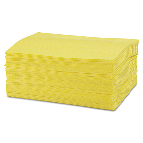 Masslinn Dust Cloths, 24 x 16, Yellow, 400/Carton