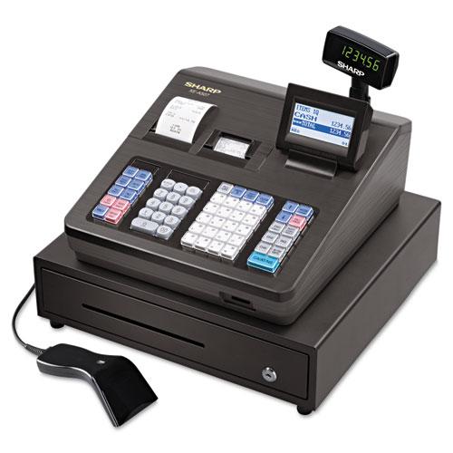 Xe series cash register w/scanner, thermal printer, 7000 lookup, 40 clerks, lcd, sold as 1 each