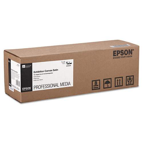 "Epson® Exhibition Canvas Satin, 17"" x 40 ft. Roll"