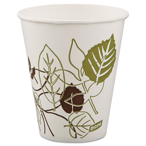 Pathways Polycoated Paper Cold Cups, 12oz, 100/Pack | by Plexsupply