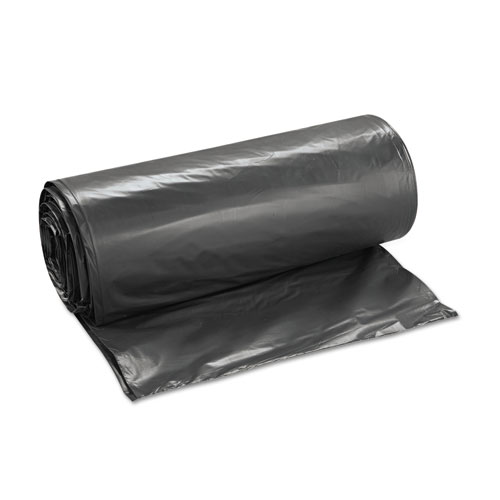 40 x 46 RetailSource L124046CC125 Can Liners 0.7 mil//40 gal Capacity Clear Pack of 125
