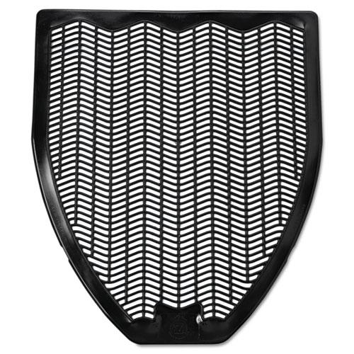 Fresh Products Disposable Urinal Floor Mat, Nonslip, Fresh Blast Scent, 17 1/2 x 20 3/8, Black, 6/Carton