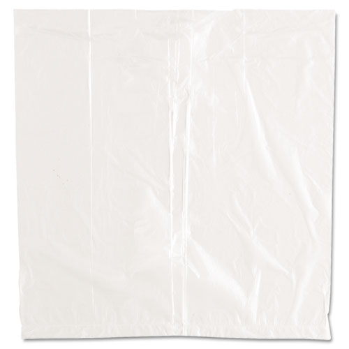Ice Bucket Liner Bags, 3 qt, 0.24 mil, 12 x 12, Clear, 1,000/Carton