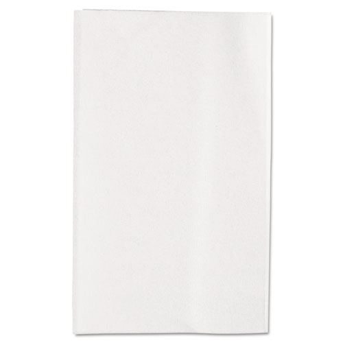 Singlefold Interfolded Bathroom Tissue, Septic Safe, 1-Ply, White, 400 Sheets/Pack, 60 Packs/Carton
