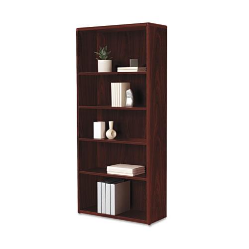 hon 10700 series wood bookcase 5 shelf 3 adjust 32 3 8 x. Black Bedroom Furniture Sets. Home Design Ideas
