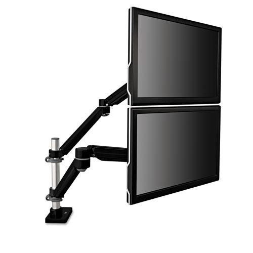 3M™ Easy-Adjust Monitor Arm, 4 1/2 x 25 1/2, Black Gray