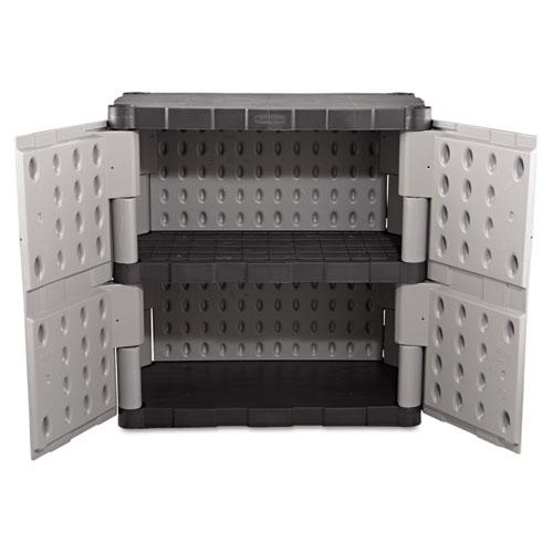 Amazing Double Door Storage Cabinet Model