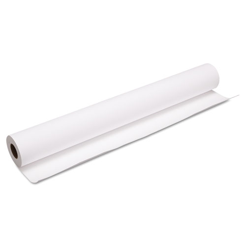 Heavyweight Matte Coated Paper Roll, 2 Core, 10 mil, 36 x 100 ft, Matte White