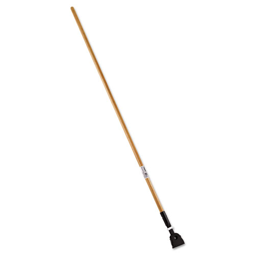 Snap-On Hardwood Dust Mop Handle, 1 1/2 dia x 60, Natural
