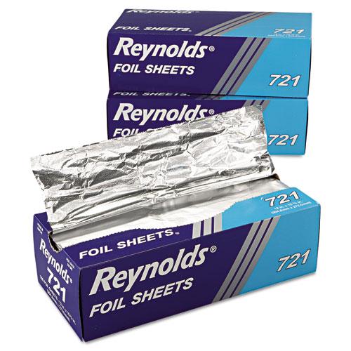 Aluminum Foil Sheets : Rfp reynolds wrap interfolded aluminum foil sheets zuma
