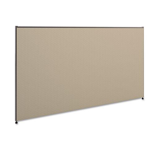 Vers Office Panel, 72w x 42h, Gray