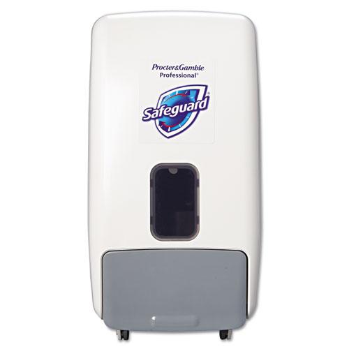Safeguard® Foam Hand Soap Dispenser, 1200 mL, White/Gray