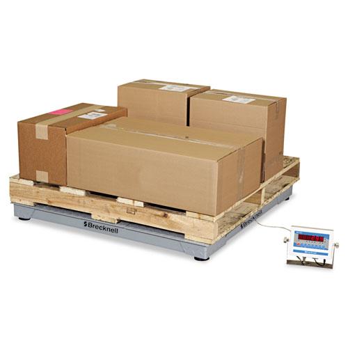 Electronic Shipping Scale, 5000lb Capacity, 48 x 48 Platform
