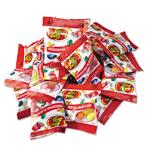 Jelly Belly® Jelly Beans, Assorted Flavors, 80/Dispenser Box