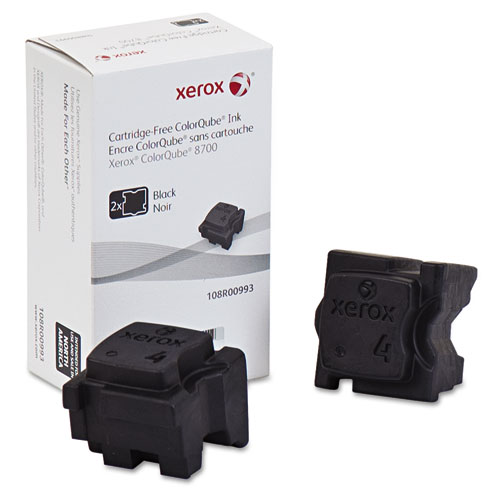 Xerox 108R00993 Ink Sticks, 4500 Page-Yield, Black, 2/Box - 108R00993 at Sears.com