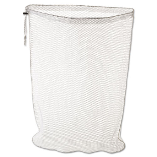 Laundry Net, Synthetic Fabric, 24w x 24d x 36h, White