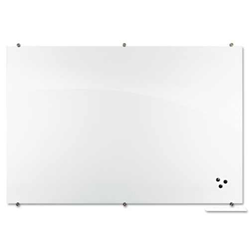 Best-Rite Visionary Magnetic Glass Board, Frameless ...