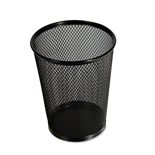 Jumbo Mesh Pencil Cup, Black - Lighthouse Office Supply