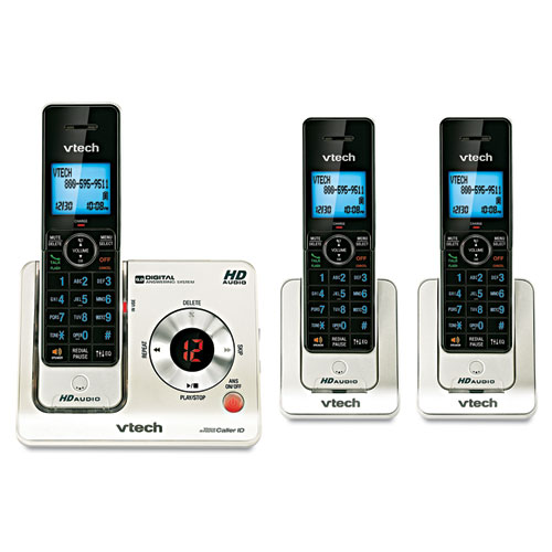 Ls6425-3 dect 6.0 cordless voice announce answering system, sold as 1 each
