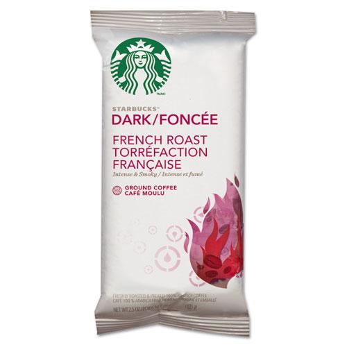 Coffee, French Roast, 2.5oz Bag, 18 Bags/Box