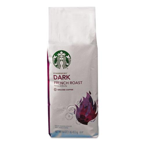 Coffee, French Roast, Ground, 1lb Bag | by Plexsupply