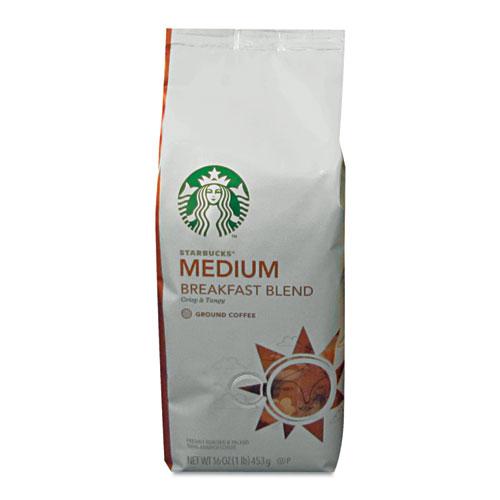 Coffee, Breakfast Blend, Ground, 1lb Bag