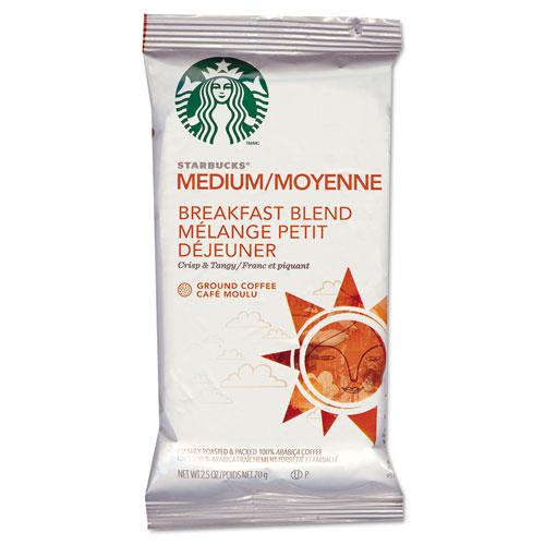 Coffee, Breakfast Blend, 2 1/2 Packet, 18/Box | by Plexsupply