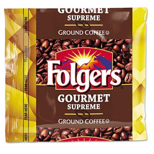 Folgers® Coffee, Fraction Pack, Gourmet Supreme, 1.75oz, 42/Carton