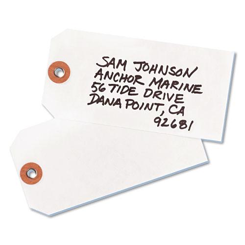 Tyvek Shipping Tags, 4 3/4 x 2 3/8, White, 1,000/Box
