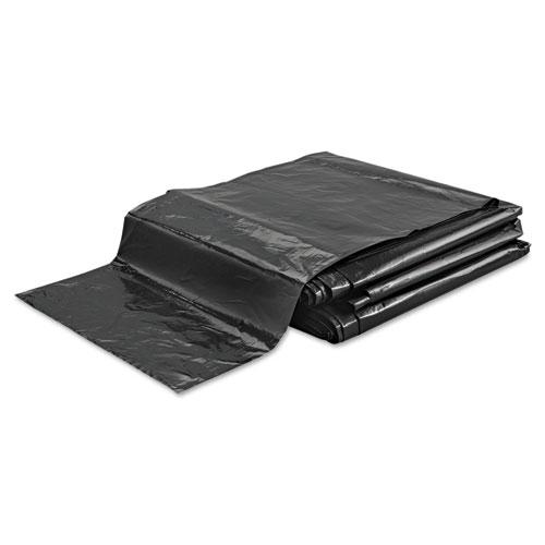 "FlexSol Low Density Economy Ecosac, 33 gal, 1.5 mil, 33"" x 39"", Black, 150/Carton"