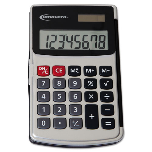 Handheld Calculator 8 Digit Lcd Technology Essentials