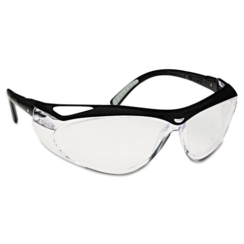 Jackson Safety* Envision Spectacles, Black/Clear, FogGard Plus