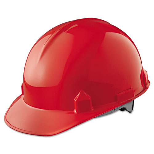 Jackson Safety* SC-6 Head Protection, 4-pt Ratchet Suspension, Red