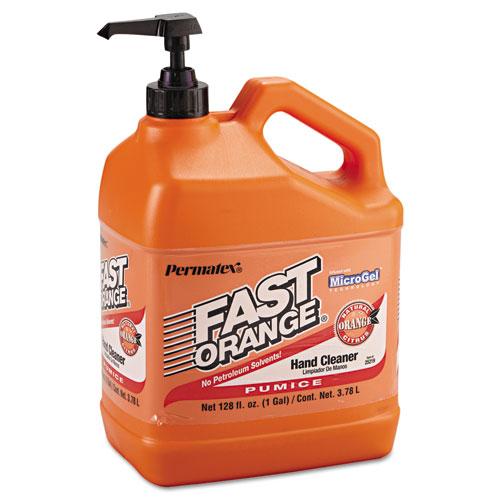 Permatex® Fast Orange Pumice Lotion Hand Cleaner, 1gal Bottle