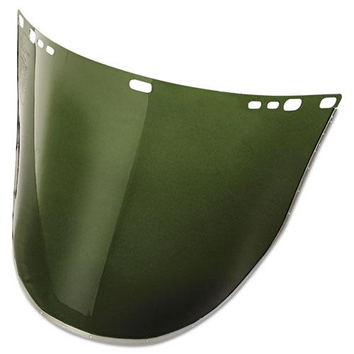 Jackson Safety* 34-42 F30 Acetate Face Shield, Dark Green