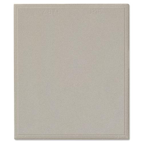"Jackson Safety* NEXGEN Inner Safety Plate, Polycarbonate, 4 1/2""W x 5 1/4"", Clear"