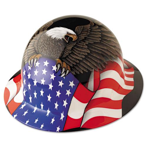 Fibre-Metal® by Honeywell Hard Hat, Spirit Of America, Thermoplastic
