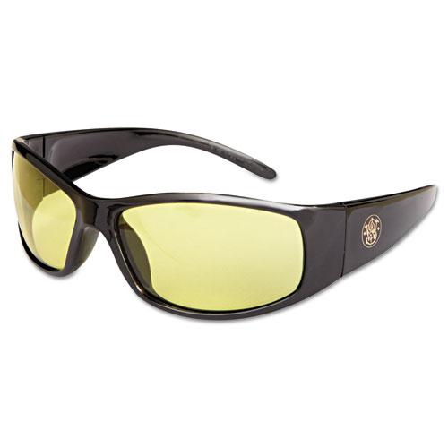 Elite Safety Glasses, Amber Anti-Fog Lens 21305
