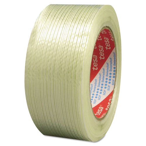 "319 Performance Grade Filament Strapping Tape, 1"" x 60 yds, Clear 