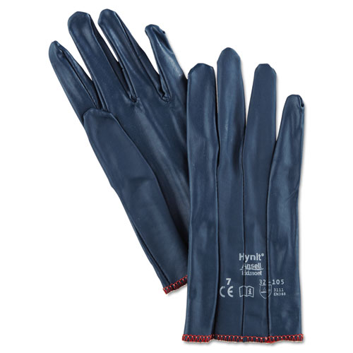 AnsellPro Hynit Nitrile-Impregnated Gloves, Size 7