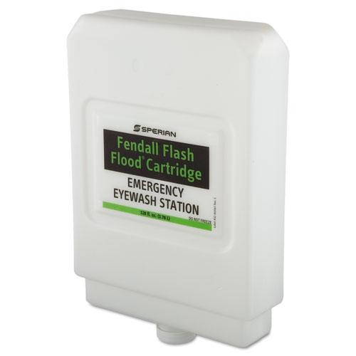 Fendall Flash Flood Eyewash Station Refill Cartridge, 12x10x13, 1 gal, 4/CT