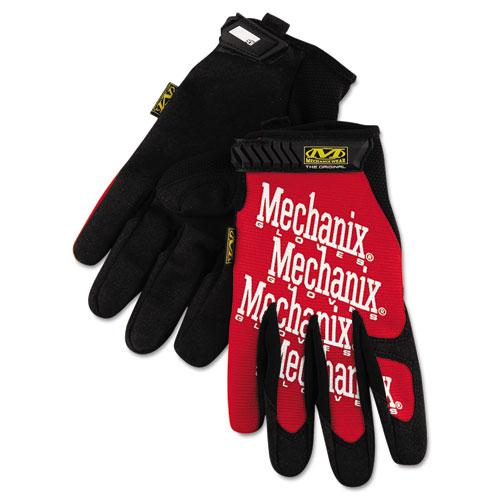 Mechanix Wear, Inc Mechanix Wear Gloves - 9 Size Number - Medium Size - Leather - Red - Safety Cuff - 2 / Pair