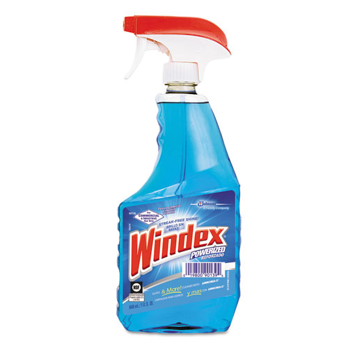 Windex Foaming Glass Cleaner - Foam Spray - 0.25 gal (32 fl oz) - Ammonia Scent - 12 / Bottle - 1 /  DVO90139