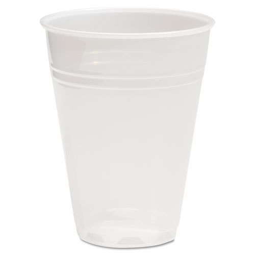 Translucent Plastic Cold Cups, 7oz, 100/Pack TRANSCUP7PK