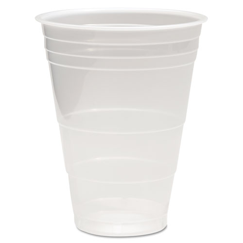 Translucent Plastic Cold Cups, 16oz, 50/Pack TRANSCUP16PK