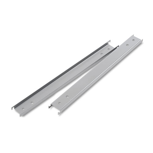 Three Row Hangrails for 42 Files, Aluminum, 2/Pack
