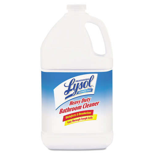 Disinfectant Heavy-Duty Bathroom Cleaner Concentrate, 1 gal Bottles, 4/Carton