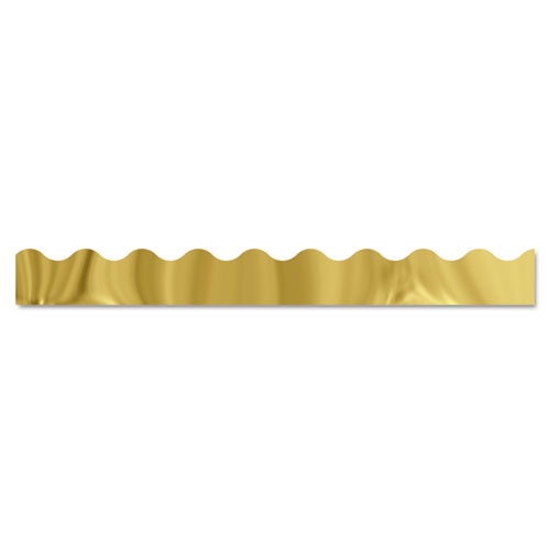 Terrific Trimmers Metallic Borders, Gold, 10 Strips, 2 1/4 x 39 each