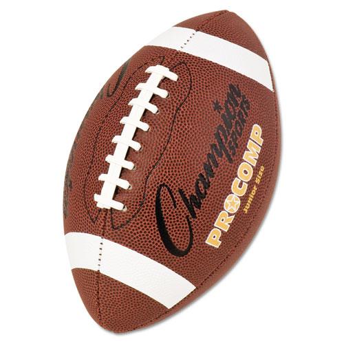 Pro Composite Football, Junior Size, 20.75, Brown
