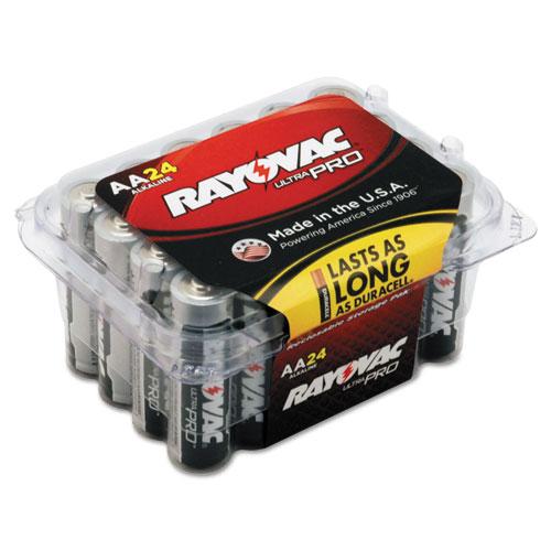Rayovac® Ultra Pro Alkaline Batteries, AA, 24/Pack